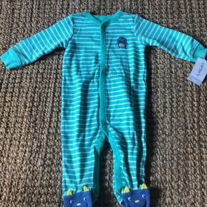 Carter's new w/tags monster jumper 6m